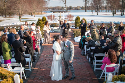 Ceremony at Pen Ryn in Bucks County PA