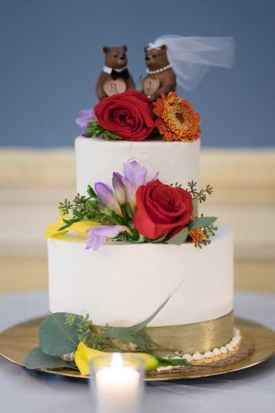 Racquet Club of Philadelphia wedding cake