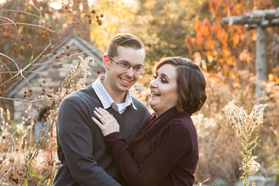Engagement Session at Bowman's Nature Preserve New Hope
