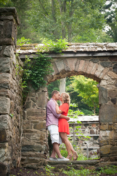 Rustic engagement session Philadelphia