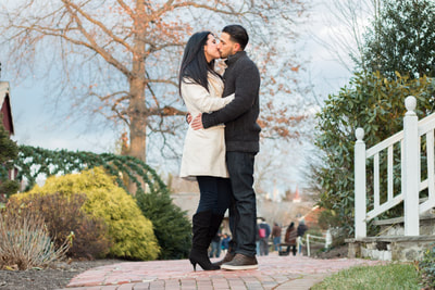 Engagement at Peddler's Village New Hope