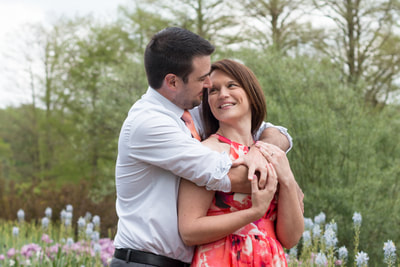 Engagement session in Kennett Square, PA