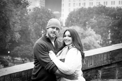 Engagement Session in Central Park New York