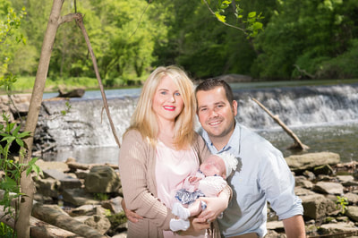 Family session in Montgomery County
