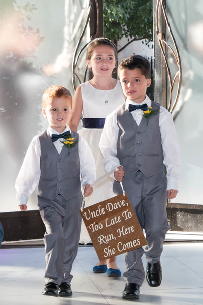 Ring bearers and flower girl Manayunk Wedding