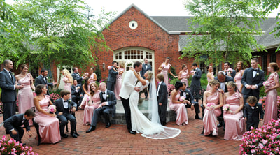 Bridal Party at Talamore County Club in Ambler, PA