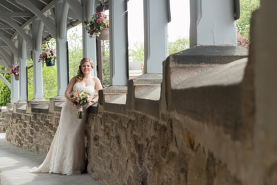 Bride at Sisters of the Blessed Sacrament Bucks County