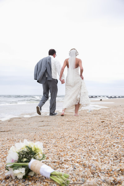 Beach wedding New Jersey