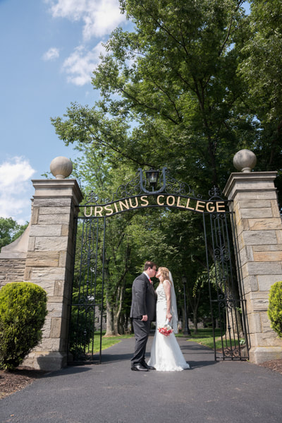 Ursinus College wedding