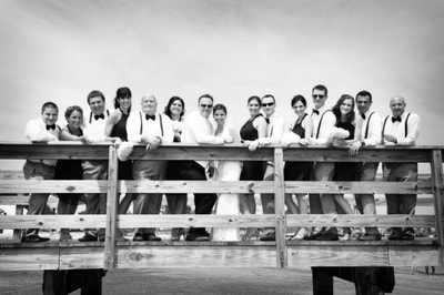 Ocean City New Jersey Wedding Party