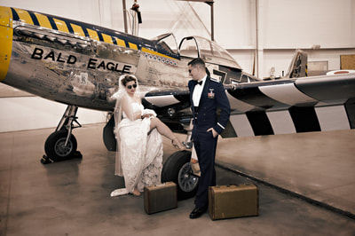 Elopement in Pennsylvania at an air field