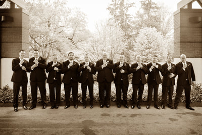 Groomsmen in Bensalem, PA Bucks County
