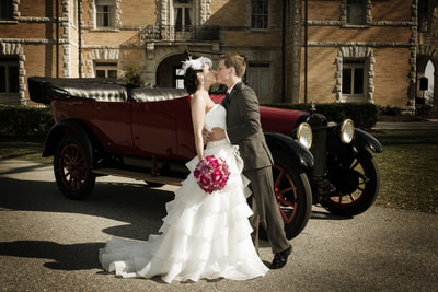 Bride and Groom at Cairnwood Estate