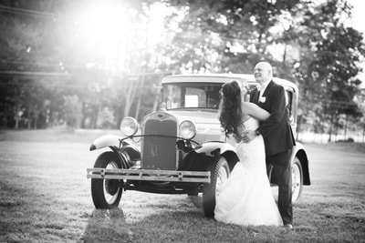 Rose Bank Winery Wedding Portrait