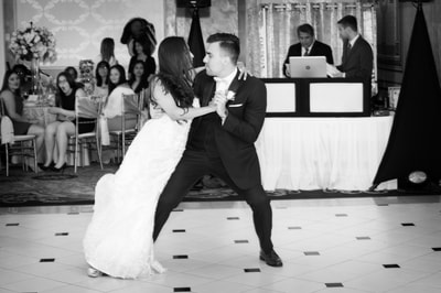 First dance at Adelphia Banquets in New Jersey