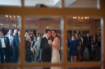 Bride and Groom first dance at Manor House